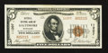 National Bank Notes:Maryland, Baltimore, MD - $5 1929 Ty. 2 National Central Bank Ch. # 11207....