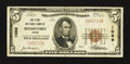 National Bank Notes:Maine, Biddeford, ME - $5 1929 Ty. 1 The First NB Ch. # 1089. ...