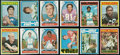 Football Cards:Sets, 1972 Topps Football cards (119) With Stars and High Numbers. ...