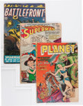 Golden Age (1938-1955):Miscellaneous, Comic Books - Assorted Golden Age Comics Group (Various, 1940s-'50s) Condition: Average FR/GD.... (Total: 32 Comic Books)