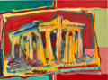 Post-War & Contemporary:Contemporary, FROM THE ESTATE OF DR. EDMUND P. PILLSBURY. KONSTANTINOS ZANNETOS(Greek, b. 1981). Parthenon, 2006. Acrylic on paper...