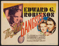 "Movie Posters:Crime, The Last Gangster (MGM, 1937). Title Lobby Card (11"" X 14"").Crime.. ..."