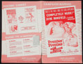"""Movie Posters:Sexploitation, Promises! Promises! & Others Lot (NTD, 1963). Pressbooks (5) (6Pages and 4 Pages, 11"""" X 17"""") (8 Pages, 10"""" X 14"""") (24 Pages...(Total: 5 Items)"""