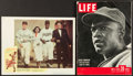 "Baseball Collectibles:Others, 1950 ""The Jackie Robinson Story"" Original Lobby Card and ""LIFE""Magazine...."