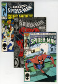 Modern Age (1980-Present):Superhero, Spider-Man-Related Box Lot (Marvel, 1980s-'90s) Condition: AverageNM-....