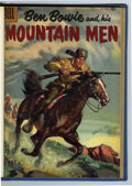 Silver Age (1956-1969):Adventure, Ben Bowie and His Mountain Men #7-17 Bound Volumes (Dell, 1956-59).... (Total: 3 Items)