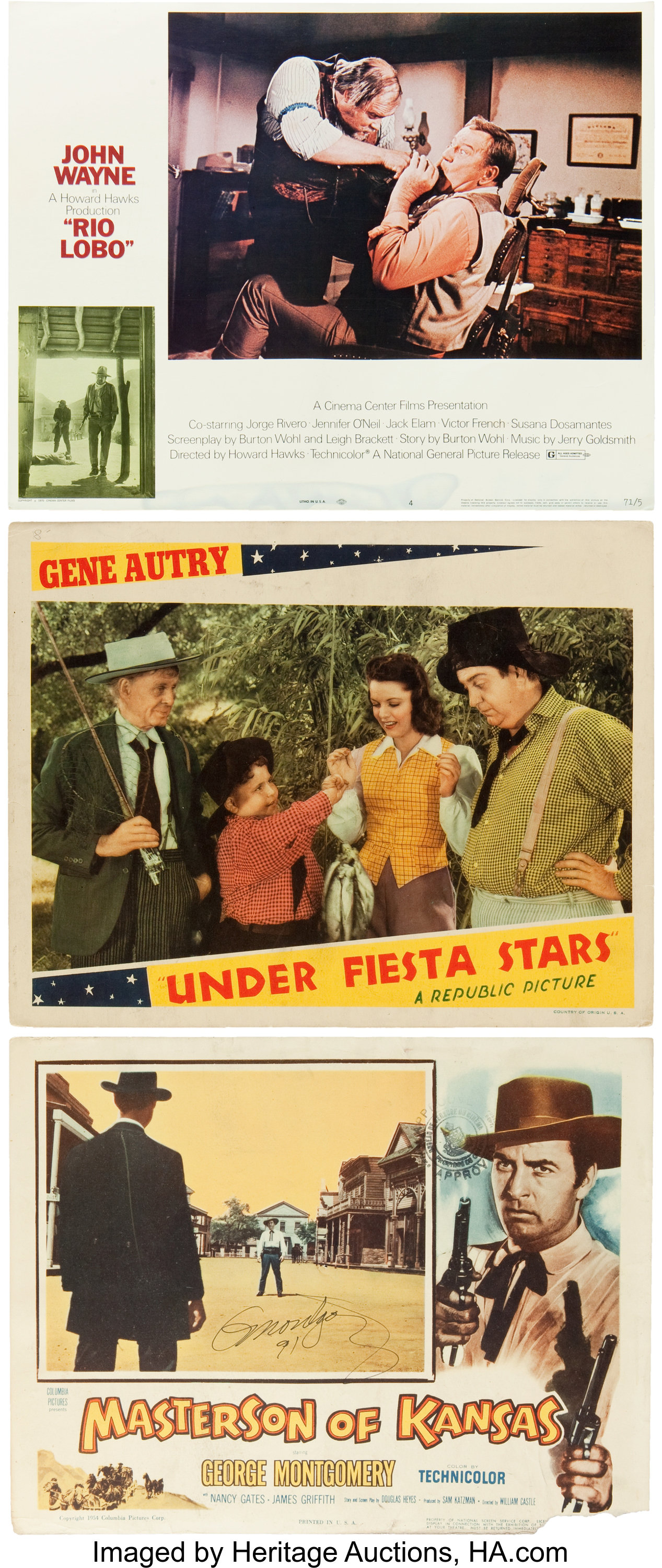 """Bandits of the West Allan /""""Rocky/"""" Lane western classic movie poster print 2"""
