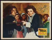 """Drums Along the Mohawk (20th Century Fox, R-1947). Autographed Lobby Card (11"""" X 14""""). Adventure"""
