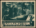 "Movie Posters:Horror, Frankenstein (Universal, R-1947). Lobby Card (11"" X 14""). Horror....."