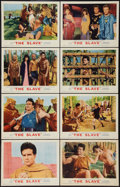 """Movie Posters:Adventure, The Slave (MGM, 1963). Lobby Card Set of 8 (11"""" X 14""""). Adventure..... (Total: 8 Items)"""