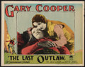 "Movie Posters:Western, The Last Outlaw (Paramount, 1927). Lobby Card (11"" X 14"").Western.. ..."