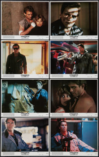 """The Terminator (Orion, 1984). Mini Lobby Card Set of 8 (8"""" X 10""""). Science Fiction. ... (Total: 8 Items)"""