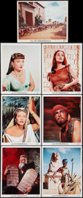 "Movie Posters:Drama, The Ten Commandments (Paramount, 1956). Color Portrait Photos (14)(8"" X 10""). Drama.. ... (Total: 14 Items)"
