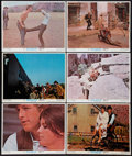 """Movie Posters:Western, Butch Cassidy and the Sundance Kid (20th Century Fox, R-1973). Lobby Cards (6) (11"""" X 14""""). Western.. ... (Total: 6 Items)"""