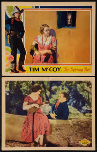 """Fighting Marshal and Other Lot (Columbia, 1931). Lobby Cards (2) (11"""" X 14""""). Romance. ... (Total: 2 Items)"""