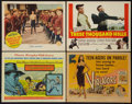 "Movie Posters:Adventure, Legend of the Lost & Others Lot (United Artists, 1957). TitleLobby Cards (3) (11"" X 14""), and Lobby Card (11"" X 14""). Adven...(Total: 4 Items)"