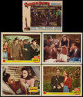 "Movie Posters:War, China Girl & Others Lot (20th Century Fox, 1942). Lobby Cards(5) (11"" X 14""). War.. ... (Total: 5 Items)"