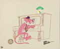 Animation Art:Limited Edition Cel, Pink Panther Piano Man Limited Edition Cel #21/200 (GalleryLainzberg, undated)....