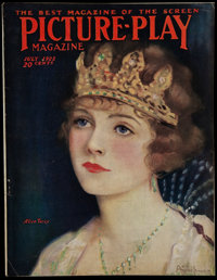 """Picture Play (July, 1922). Magazine (116 Pages, 8.5"""" X 11.25""""). Miscellaneous"""