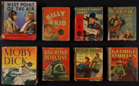 """West Point of the Air and Others Lot (Whitman Publishing, 1935). Big Little Books (8) (4.5"""" X 5.25"""" and 4""""..."""