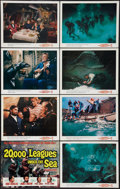"""Movie Posters:Science Fiction, 20,000 Leagues Under the Sea (Buena Vista, R-1963). Lobby Card Setof 8 (11"""" X 14""""). Science Fiction.. ... (Total: 8 Items)"""