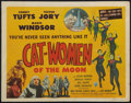 """Movie Posters:Science Fiction, Cat-Women of the Moon (Astor Pictures, 1954). Title Lobby Card (11"""" X 14""""). Science Fiction.. ..."""