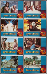 "Clash of the Titans (MGM, 1981). Lobby Card Set of 8 (11"" X 14""). Fantasy. ... (Total: 8 Items)"