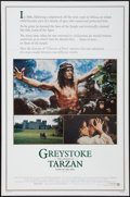 "Movie Posters:Adventure, Greystoke: The Legend of Tarzan, Lord of the Apes (Warner Brothers,1983). One Sheet (27"" X 41"") and Premiere Program (22 Pa... (Total:2 Items)"