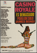 "Movie Posters:James Bond, Casino Royale (Columbia, 1967). Spanish One Sheet (27"" X 39""). James Bond.. ..."