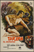 "Movie Posters:Adventure, Tarzan the Magnificent (Paramount, 1962). Spanish One Sheet (25.5""X 38.5""). Adventure.. ..."