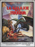 "Movie Posters:Science Fiction, Galaxy of Terror (United Artists, 1981). French Grande (47"" X 63"").Science Fiction.. ..."