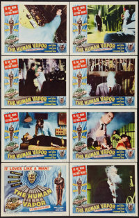 "The Human Vapor (Brenco, 1962). Lobby Card Set of 8 (11"" X 14""). Science Fiction. ... (Total: 8 Items)"