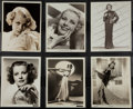 """Movie Posters:Miscellaneous, Joan Marsh & Others Lot (MGM, 1930). Photos (12) (8"""" X 10"""").Miscellaneous.. ... (Total: 12 Items)"""