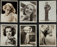 "Joan Marsh & Others Lot (MGM, 1930). Photos (12) (8"" X 10""). Miscellaneous. ... (Total: 12 Items)"