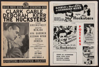 "The Hucksters (MGM, 1947). Uncut Pressbook (4 Sections -- 18 Pages, 17 Pages, 4 Pages, and 2 Pages, 11"" X 15""..."