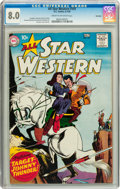 Silver Age (1956-1969):Western, All Star Western #107 Big Apple pedigree (DC, 1959) CGC VF 8.0Cream to off-white pages....