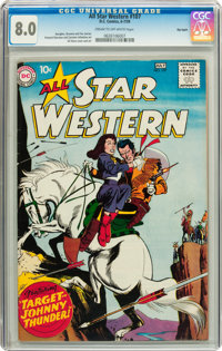 All Star Western #107 Big Apple pedigree (DC, 1959) CGC VF 8.0 Cream to off-white pages