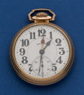 Timepieces:Pocket (post 1900), Illinois 21 Jewel 60 Hour Bunn Special Double Time Zone Hands Pocket Watch. ...
