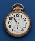 Timepieces:Pocket (post 1900), Illinois 60 hour Bunn Special Pocket Watch. ...