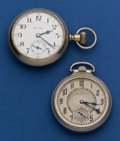 Timepieces:Pocket (post 1900), Two Hamilton's 17 Jewels 16 Sizes Pocket Watches. ... (Total: 2Items)