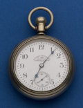 Timepieces:Pocket (post 1900), Elgin 21 Jewel 18 Size Private Label Special Private Dial PocketWatch. ...