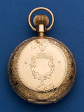 Timepieces:Pocket (post 1900), Waltham 14k Gold 18 Size Model 83 Special Railroad King PocketWatch. ...