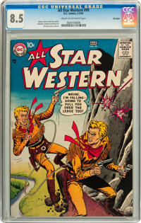 All Star Western #99 Big Apple pedigree (DC, 1958) CGC VF+ 8.5 Cream to off-white pages