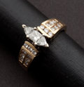 Estate Jewelry:Rings, Estate Diamond & Gold Ring. ...