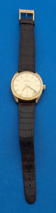 Timepieces:Wristwatch, Zenith 18k Gold Manual Wind Wristwatch. ...