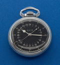 Timepieces:Pocket (post 1900), Hamilton 22 Jewel 4992 B Pocket Watch With Original Box. ...