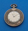 Timepieces:Pocket (post 1900), Swiss Coin Form Pocket Watch. ...