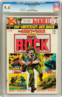 Our Army at War #280 (DC, 1975) CGC NM 9.4 White pages