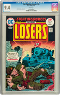 Bronze Age (1970-1979):War, Our Fighting Forces #155 (DC, 1975) CGC NM 9.4 White pages....
