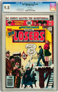 Bronze Age (1970-1979):War, Our Fighting Forces #168 (DC, 1976) CGC NM/MT 9.8 White pages....